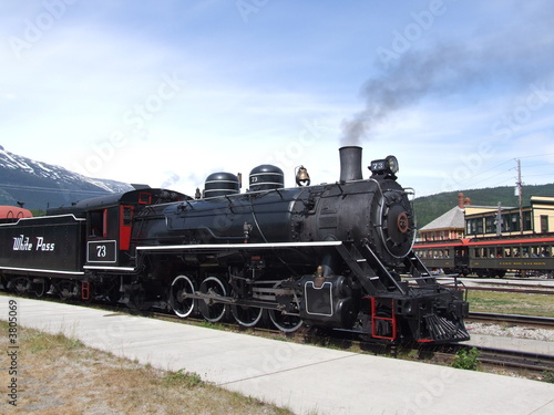 Steam Engine - White Pass Yukon