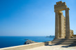 Temple of Athena Lindia at Lindos, Rhodes, Greece - 3807268