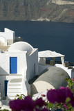 santorini house villa restaurant patio  incredible greek isles poster