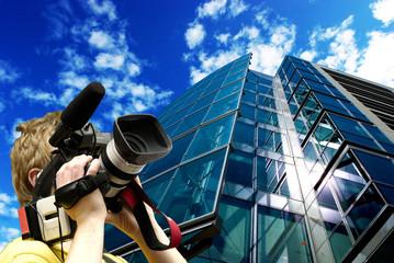 Cameraman en action !!!