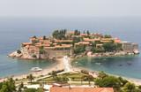 Resort Town on Peninsula in Montenegro poster