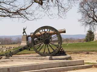 Gettysburg Pa Battlefield and Monuments