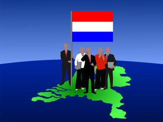 Dutch business team