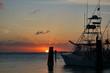 canvas print picture - florida keys fishing