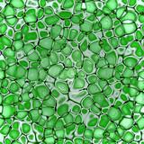 biology cellulate. texture background (green leaf) poster