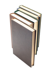 series object on white - book