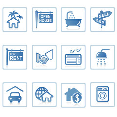 Web icons : Real Estate 1