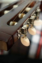 Guitar's headstock