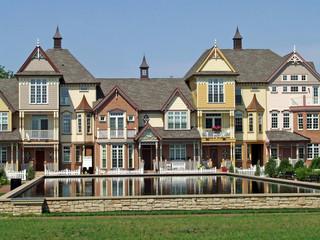 Victorian condominiums
