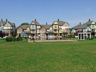Elegant Victorian Style townhomes