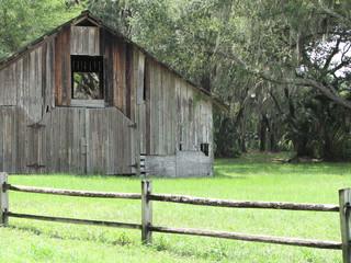 Distressed Barn