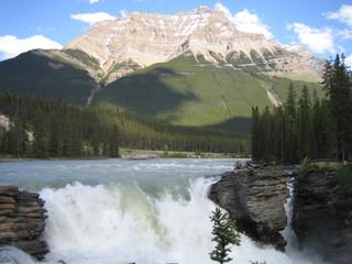 Atahbasca Waterfall Canada
