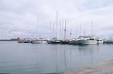 Port de plaisance de Palma aux Baléares poster