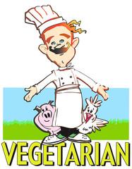 cuoco - vegetariano