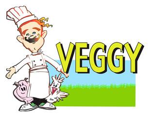 cuoco -vegetariano -vegan