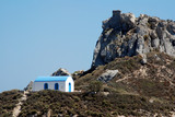 Famous chapel near the greek island Kos poster