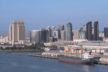 View of San Diego