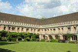 Oxford University, Magdalen College Courtyard Cloister poster