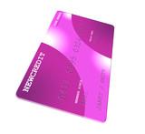 Pink Generic Credit Card poster