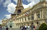The Paris Hotel and Casino in Las Vegas