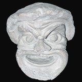 Stone head - an antique sculpture II century yes our era