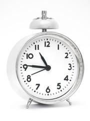 Reloj Plateado.