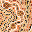 Aboriginal abstract