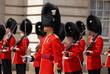 canvas print picture - Welsh Guards