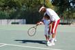 Leçon de Tennis
