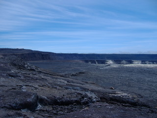 One of the largest Craters of the Kilauea Volcano - Hawaii