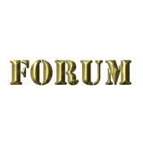 3D Golden Forum poster