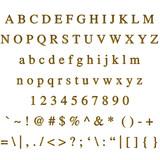 Golden Font poster