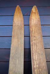 Wood Skis