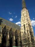 St. Stephens Cathedral (Stephansdom) in Vienna, Austria poster