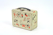 50's Lunch box on white background - 3873246