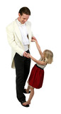 Daddy and Daughter dancing in formals poster