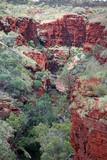 Blick in eine Gorge Australien_07_1736 poster