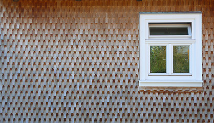 schindelwandfenster