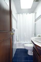 bathroom in native hotel santo domingo capital