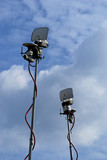 Television satellite camera antennas poster