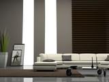 Fototapety Home interior 3D rendering