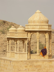 Royal Cenotaphs Around Jaisalmer