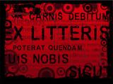 Latin Grunge poster