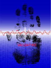 Biometric Hand Scanner