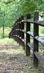 three rail fence