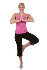 healthy fitness model posing