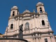 Catania chiesa San Francesco statua Cardinale Dusmet
