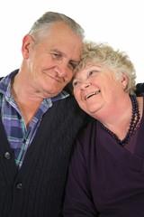 Happy senior couple enjoying time together.