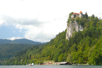 Bled castle, slovenia, europe