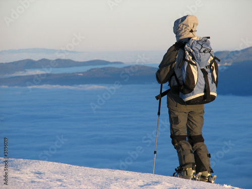Ski mountaineering  in Slovenia, Komna area